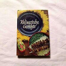 Kulinarische Gerichte (Russisch)  - DDR Kochbuch 1979 - Wild, Geflügel, Fisch,