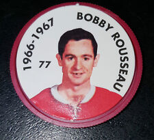 BOBBY ROUSSEAU NO. 77  MONTREAL CANADIENS 1995-96 PARKHURST HOCKEY COIN