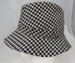 3ffec7bbe3d Herbert Johnson Rubinacci London House B W Wool Tweed Humpherey Hat ...