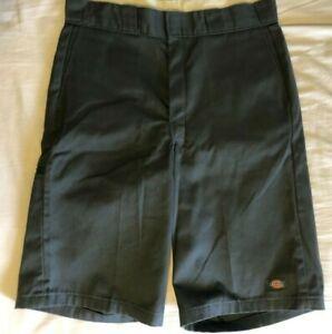 Mens-Dickies-Grey-Shorts-Size-32-Workwear