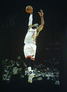 official photos 2c28d 25226 Details about Dwyane Wade Miami Heat Majestic Brand NBA Latin Nights