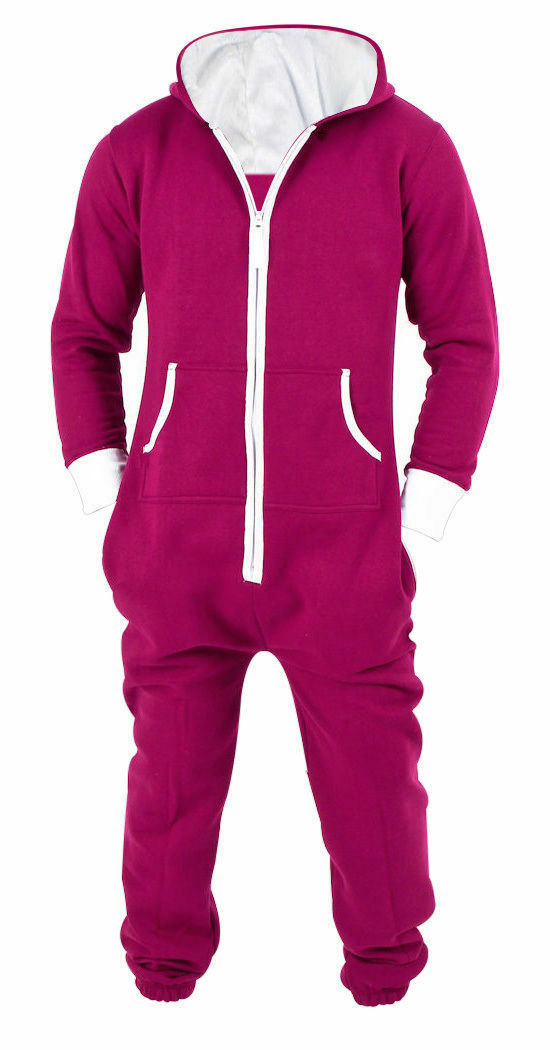 3eaa48a93bc7 Men s Jumpsuit One-Piece Pajamas Non footed Jumpsuits