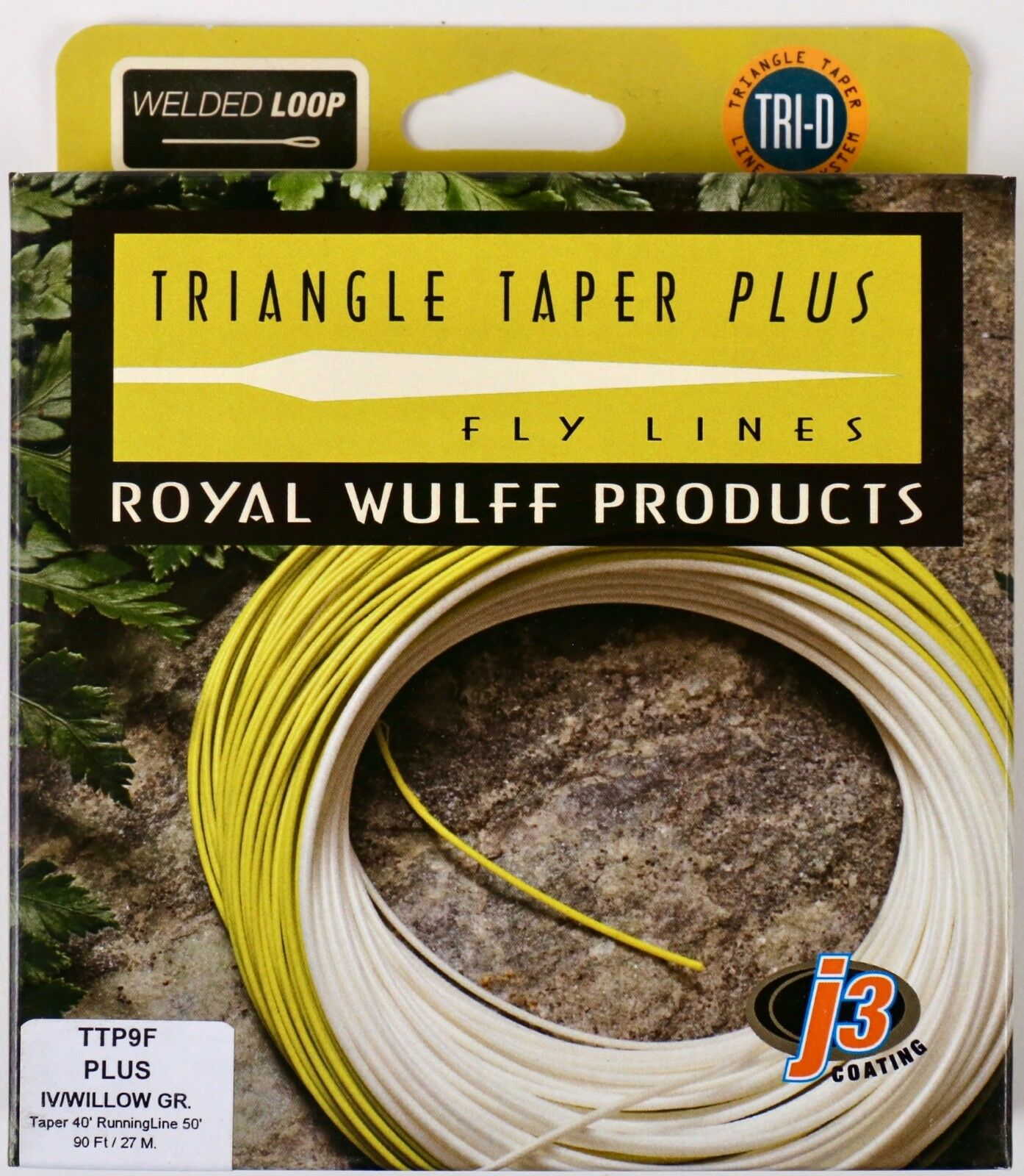 Royal Wulff Triangle Triangle Triangle Taper Plus 9 WT Floating Fly Line Free Fast Shipping TTP9F 1fc734