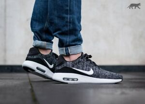 Details about Nike Air Max Modern Flyknit Black White Oreo UK Size 6.5 EUR 40.5 876066 002