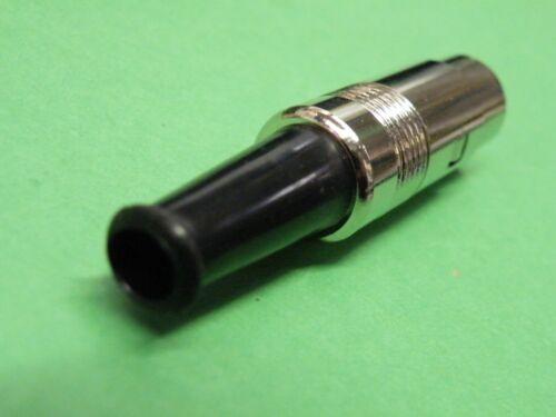 4 Pin Screened Metal DIN Plug Quad Audio  K006