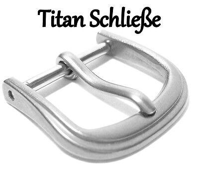 Titan Dornschließe geschwungene Form titangrau 30145 sehr leicht