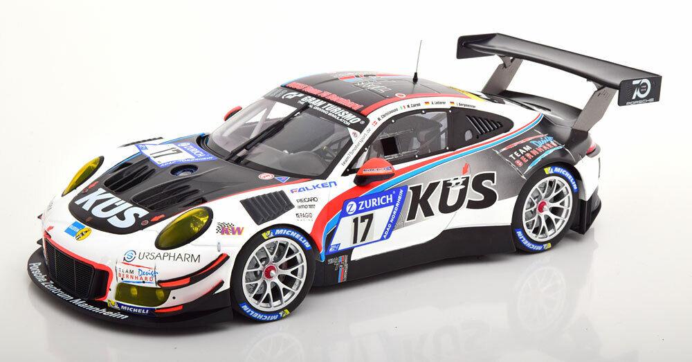 Minichamps Porsche 911 (991) Gt3 R 24h Nurburgring 2018  18 Escala Le de
