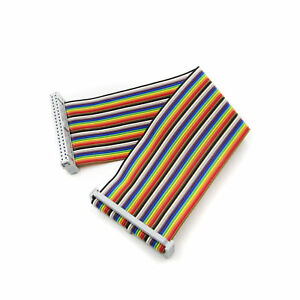 20cm-40-PIN-modo-ARCOBALENO-GPIO-cavo-a-nastro-per-Modello-Raspberry-Pi-Modello-B-B