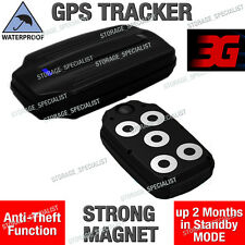 3G GPS Tracker Tough Waterproof Anti Vehicle Car Theft Strong Magnet Live Case