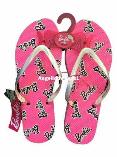 Primark Ladies BARBIE Pink Ladies Flip Flops Holiday Beach Womens Gift New