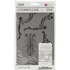 Iron Orchid Designs Vintage Art Decor Mould -Baroque #4