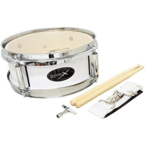 GewaPure Basix Junior Marching Drum 10x4 whiteNeu