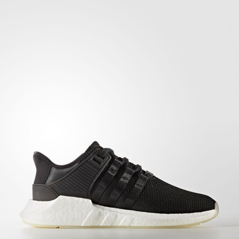 Mens Adidas EQT Equipment Support 93 17 Core Black Gum Running White BZ0585