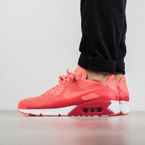 90 Nike Trainers Flyknit Max Running Varie Casual Rosso dimensioni Air Palestra 2 Ultra 0 ww4RcHrqE