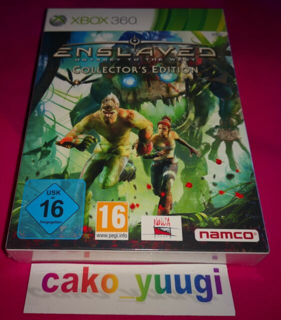 ENSLAVED ODYSSEY TO THE WEST COLLECTOR  XBOX 360 NEUF SOUS BLISTER 100% FRANCAIS