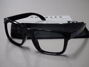 e02a9b64df Image is loading Authentic-Oakley-Holbrook-Polished-Black-Sunglasses -Frame-amp-