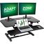 38 inch standing desk converter, height adjustable sit stand up desk converter
