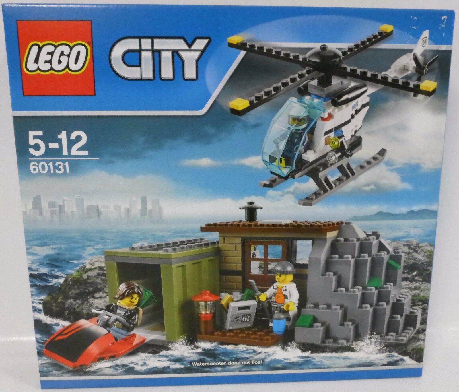 NEUF  LEGO ® City 60131 escrocs île  neuf dans sa boîte
