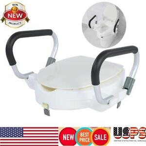Hot Sale 10cm Elevated Raised Toilet Seat With Lid