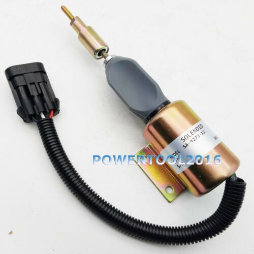Fuel Shutoff Solenoid 12V for Ford 7.8 Diesel Engine SA-4273-12 F3HZ-9A594-A