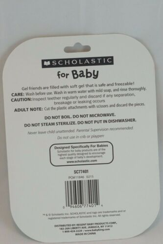 Baby Teething Toys BPA Free Safe and Freezable Scholastic Non Toxic Chew