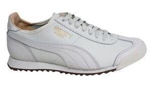Puma Scarpe Star Pizzo Og Pelle Uomo Naturale 363184 Roma Sportive U31 Bianco 01 OOZrqaF
