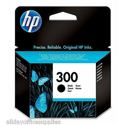 Genuine Original HP 300 Black Ink Cartridge for Deskjet F4280 F4580, UK VAT INCL