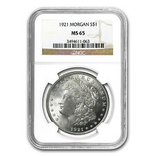 1921 Morgan Silver Dollar Coin - MS-65 NGC - SKU #4736