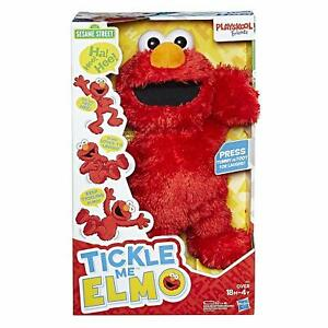 HASBRO PLAYSKOOL Sesame Street TICKLE ME ELMO Sesame Street Friends NEW