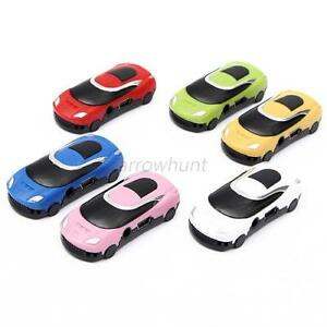 16G Car Shaped Support Micro TF Card Fashion Mini USB MP3 Music Speaker Player