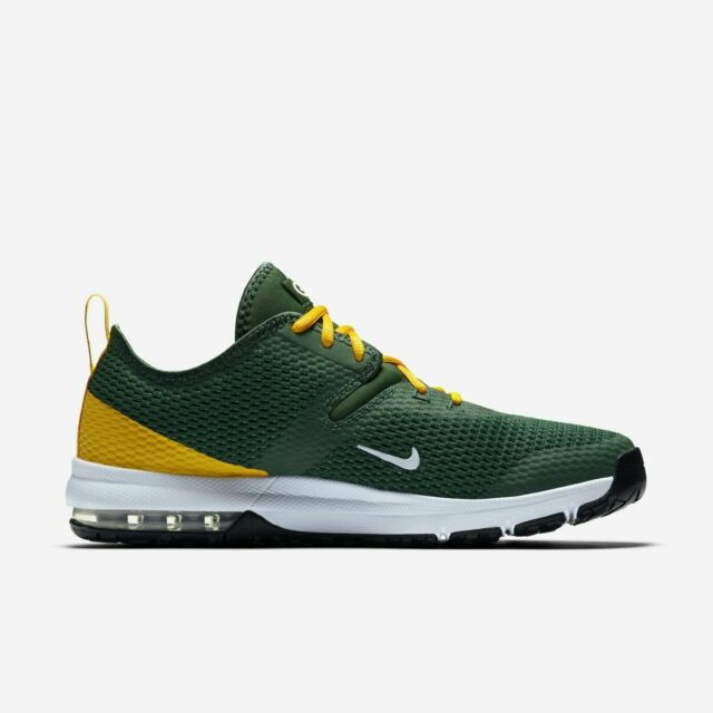 promo code b6c2d 99cd4 Men's Nike Air Max Typha 2 NFL Green Bay Gameday Shoes Size 11.5 AR0509 300  NIB