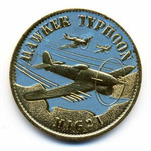 14 CAEN Mémorial, Hawker Typhoon, Couleur, Arthus-Bertrand