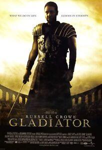 CL94 Gladiator 2000 Movie Poster Print A0-A1-A2-A3-A4-A5-A6-MAXI