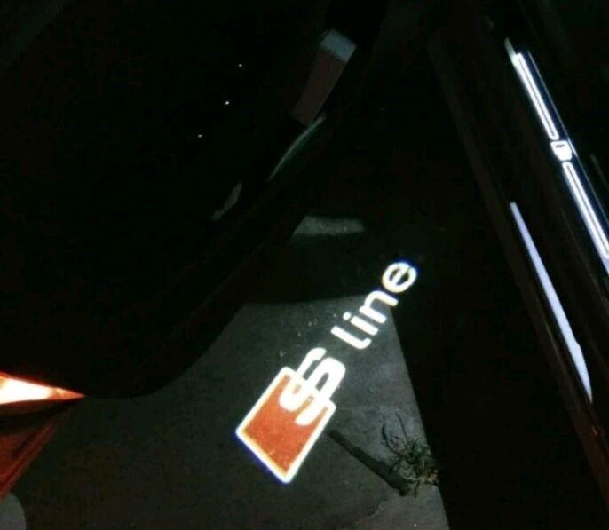 Lys og lygter, Audi, Audi Led Dørprojekter Lys S LINE Audi