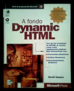 A-FONDO-DYNAMIC-HTML-Scott-Isaacs-SPAIN-LIBRO-BOOK-1998-McGraw-Hill