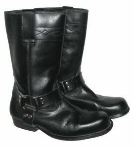 """"""" HIGHWAY 1 """" Western- Stiefel / Biker - Boots in schwarz ca. Gr. 40 - 40,5"""