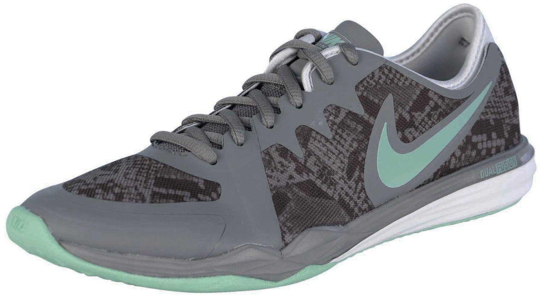 Women's Nike Dual Fusion 3 Print Training Shoes, 704941 009 Sizes 6.5 Cool G