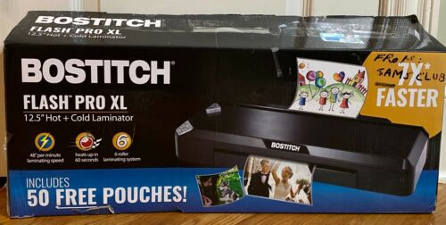 "Bostitch Flash Pro XL 12.5/"" Fast Heat Thermal Laminator Hot and Cold"