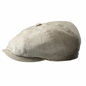 1c80bb0b223 Details about STETSON LINEN CAP – HATTERAS – MADE IN GERMANY - Same Day  Shipping - STC12