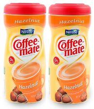 Nestle Coffee Mate Powdered Creamer Hazelnut 15 oz Gluten Free Pack Of 2