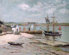 Albert Lebourg Les Huiterieres la trinite Morbihan      - 24'  CANVAS