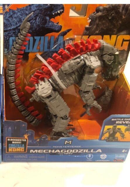 """Playmates Toys Godzilla vs. Kong 6"""" MechaGodzilla Figure"""