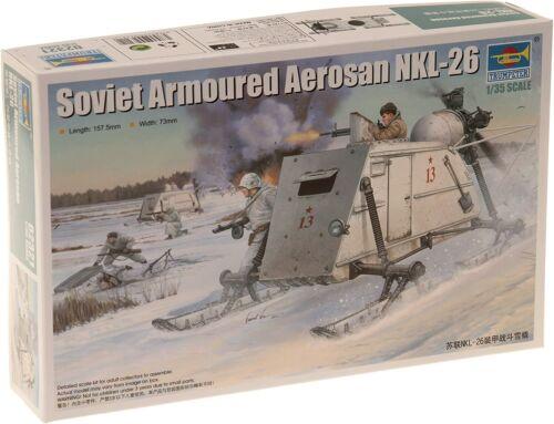 Trumpeter 02321-1//35 Soviet NKL-26 Armoured Aerosan
