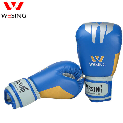 Wesing Kids Gloves Pro Training children Boxing gloves for youth 6OZ PU Leather
