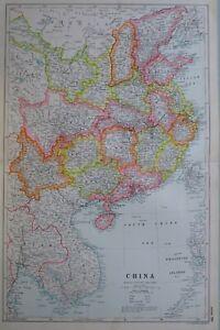 1919-MAP-CHINA-HAINAN-KWANAGTUNG-CANTON-HONG-KONG-FUKIEN-KIANGSI-HUNAN