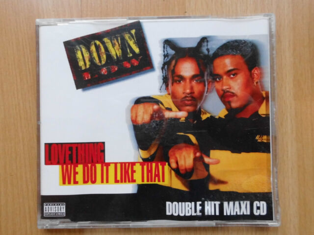 CD-SINGLE: DOWN LOW- Lovething/ We Do It Like That