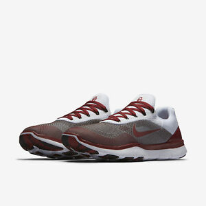 Details about NEW NIKE OKLAHOMA SOONERS FREE TRAINER V7 WEEK ZERO SHOES MENS  SZ 14 AA0881 601 dabd61e6d
