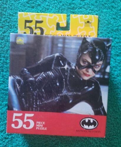 RARE New Unopened VINTAGE 1992  BATMAN returns CAT WOMAN 55PC MINI PUZZLE