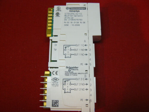 STBDRC3210 Relay Out 2pt Guaranteed Advantys Telemecanique STB-DRC-3210