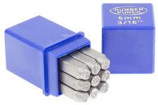 Schlagstempel Schlagzahlen 5 mm DIN 1451 Einschlagzahlen Punze Punziereisen BGS